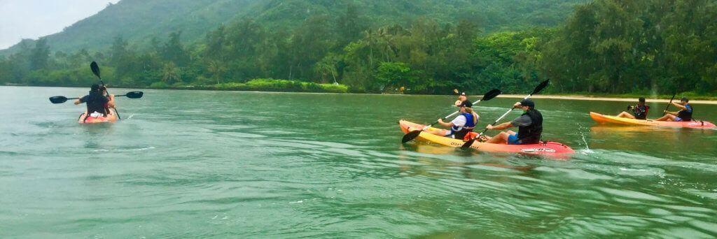 Kahana Bay Kayaking