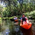 Kayaking in Kahana Valley, Oahu Hawaii