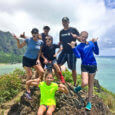Hiking Chinaman's hat