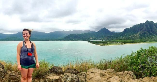 Chinaman's Hat Kayak Rental Panoramic view
