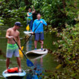 Stand up paddle boarding in Oahu