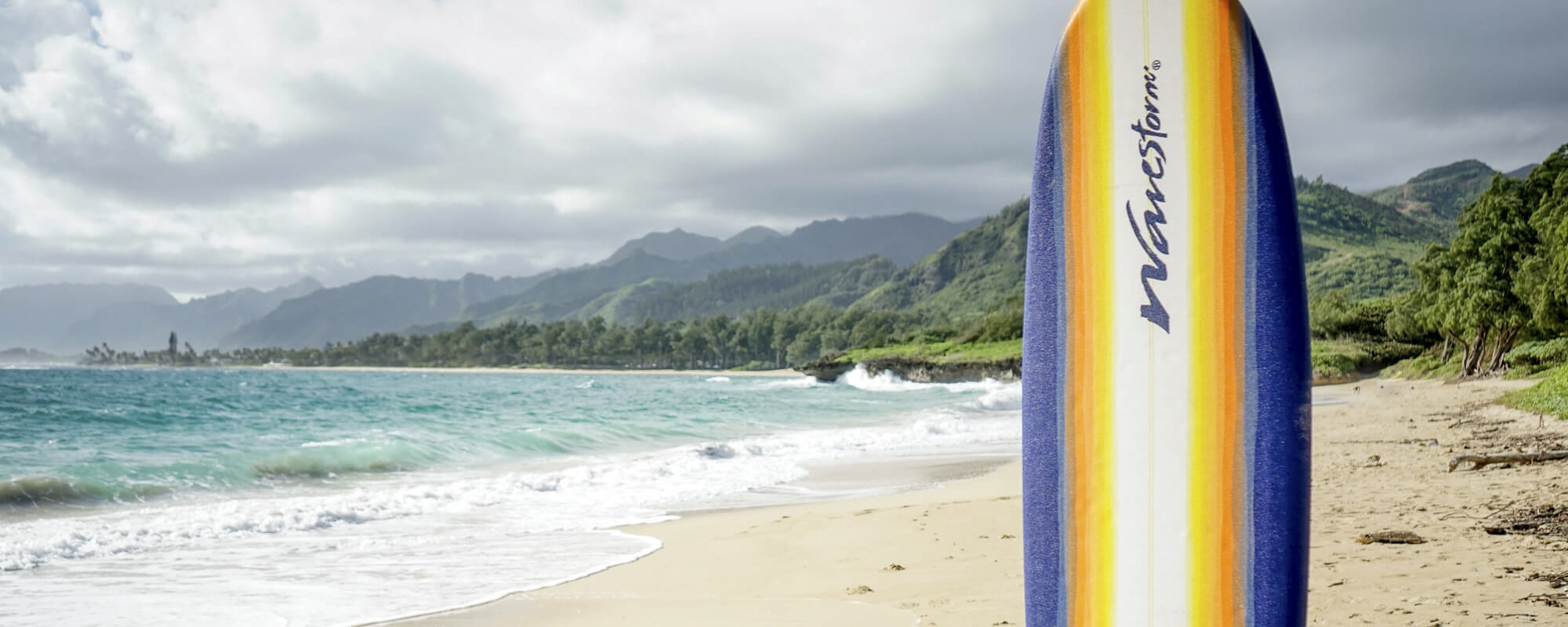 North Shore Oahu beginner surfboard rentals