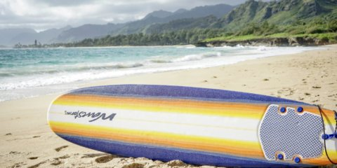 Oahu beginner surfboard rentals