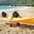 Easy Transport trolly, Oahu Tandem Ocean Kayak Rentals