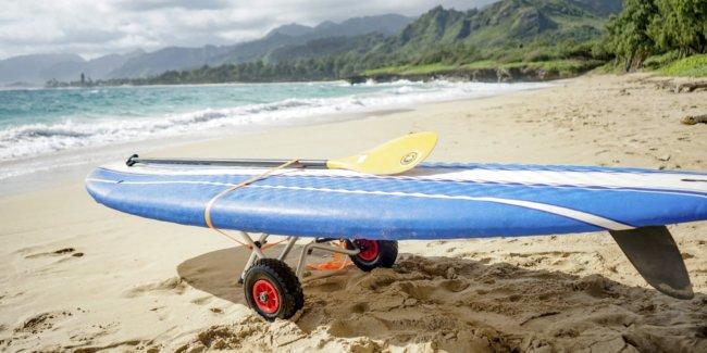 Oahu sup trolley rental