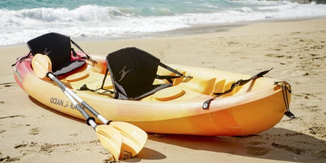 Oahu Tandem Kayak Rentals with free delivery