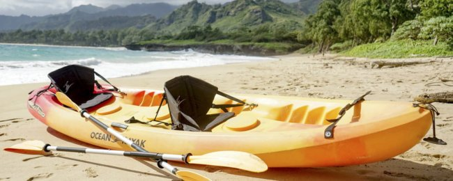 Kayaks for hire near Hauula