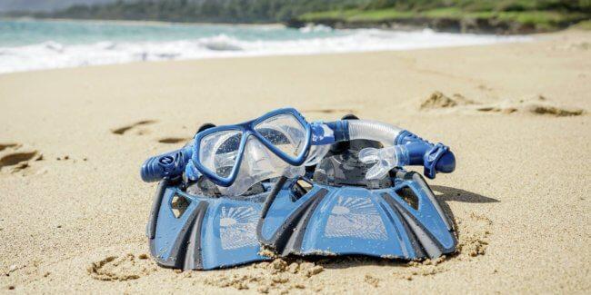 Oahu Snorkel Mask and Fin Rentals