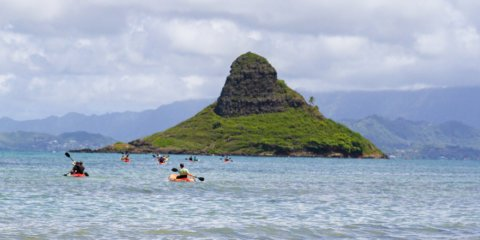 Chinaman's Hat Self-Guided Kayak Tour