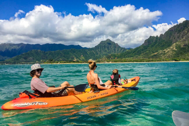 Where to get kayaks for chinaman's hat